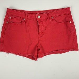 GAP Sexy Boyfriend Cut Off Jean Denim Shorts 12